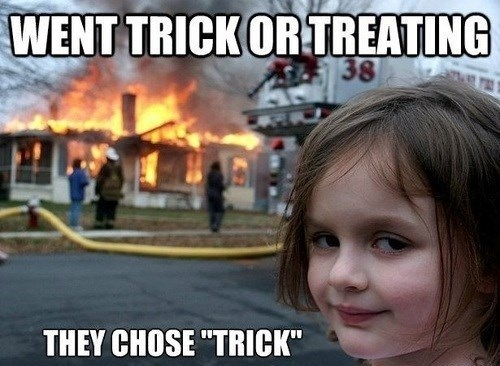 halloween trick or treat hallowmeme - 7844677376