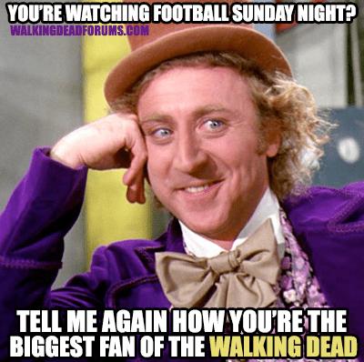 Willy Wonka football The Walking Dead - 7844721920