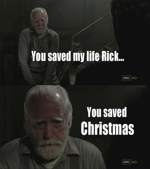 santa clause hershel greene The Walking Dead - 7844769536