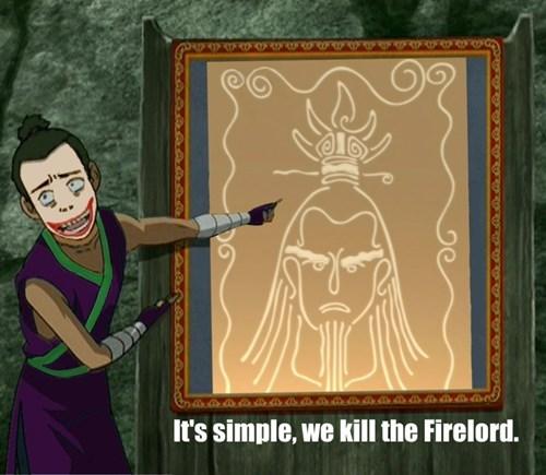 the joker Avatar the Last Airbender cartoons batman Avatar - 7844778752