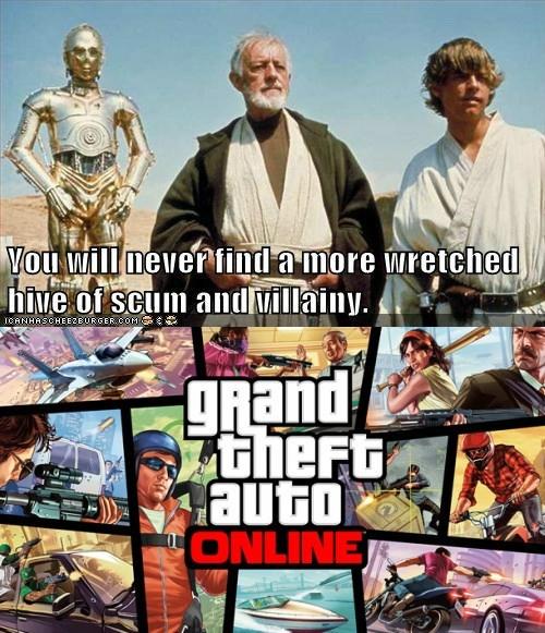 Grand Theft Auto Online - 7844828416