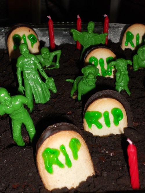 cake g rated zombie DIY food - 7844834048