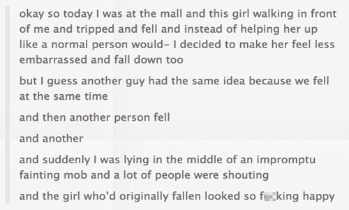 tumblr what a twist cool story funny Flash Mob - 7844901376