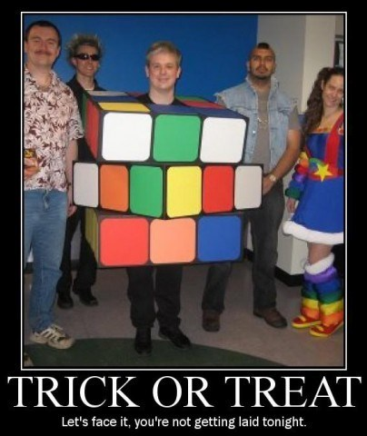 costume halloween rubiks cube funny - 7844901888