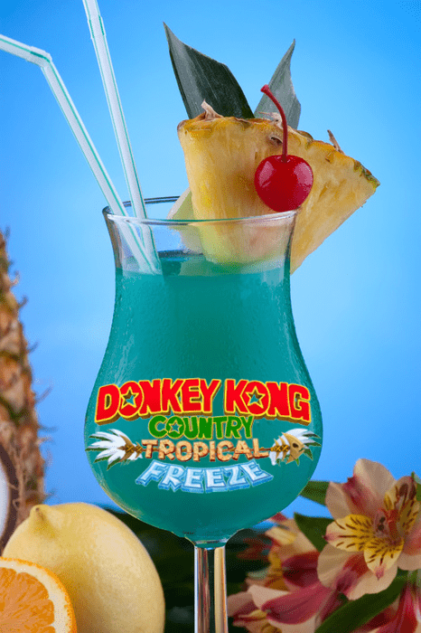 Donkey Kong Country, Now a Delicious Fruit Beverage