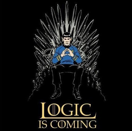 Game of Thrones,Spock,logic