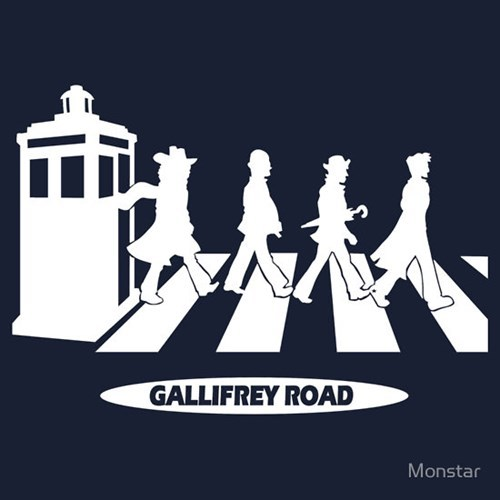 classic who,the Beatles,crossover,for sale,doctor who