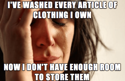 laundry First World Problems clothes - 7844973056