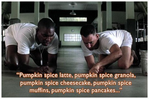 Forrest Gump halloween pumpkin spice food famously freaky g rated - 7844978688