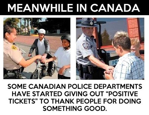 Canada,nice guys,police