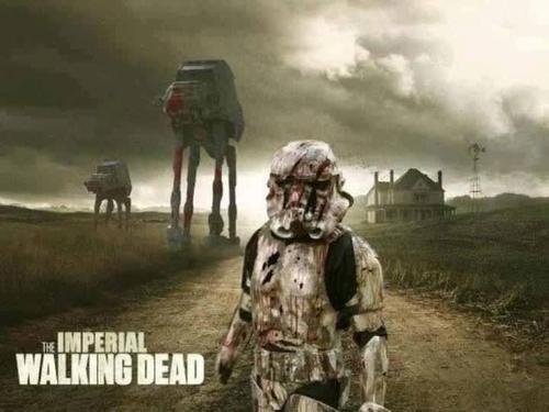 mashup star wars stormtrooper The Walking Dead - 7845015040