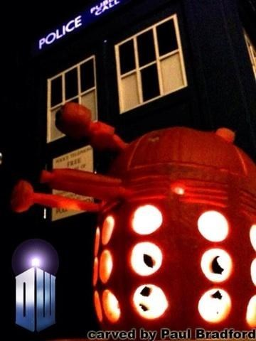 dalek halloween jack o lanterns doctor who - 7845034496