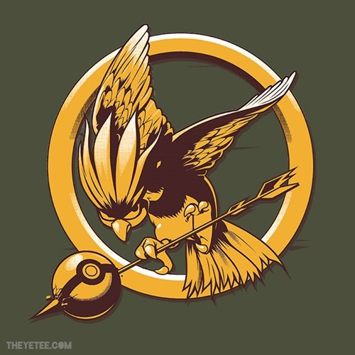 Pokémon for sale t shirts hunger games - 7845067776
