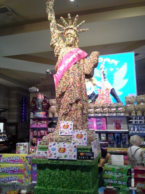 jelly beans,IRL,Statue of Liberty