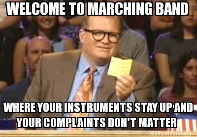 torture,marching band,whose line is it anyways,drew carrey