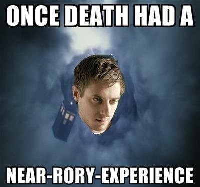rory williams doctor who near death experiences - 7845403648