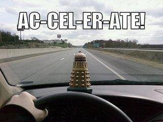 cars,daleks,doctor who