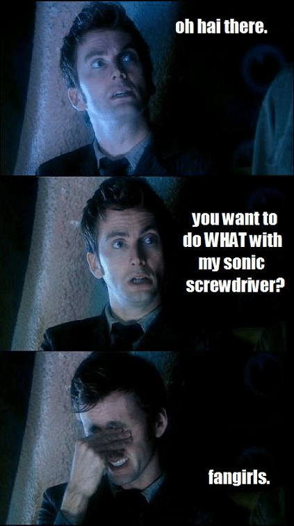 10th doctor,doctor who,fangirls