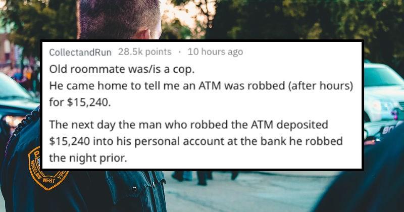 stupid instances of crimes
