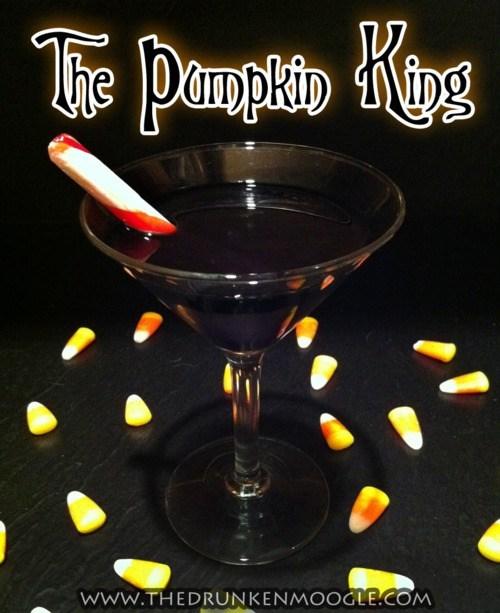 cocktails halloween pumpkin king funny - 7845703168