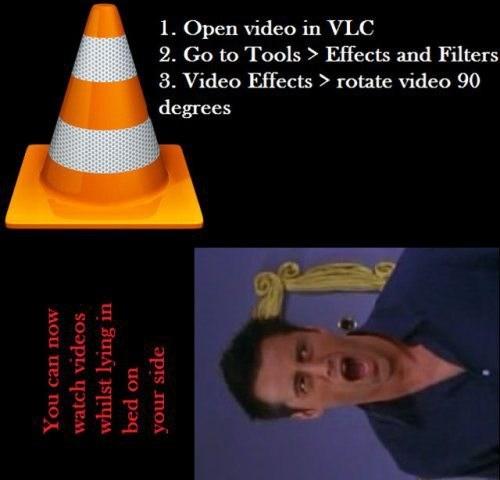 movies,life hacks,vlc
