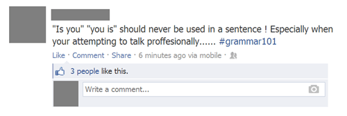 """Grammar 101"""