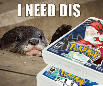 Pokémon otters pokemon x/y - 7845877760