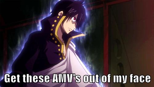 anime amvs fairy tail fandom problems - 7846051840