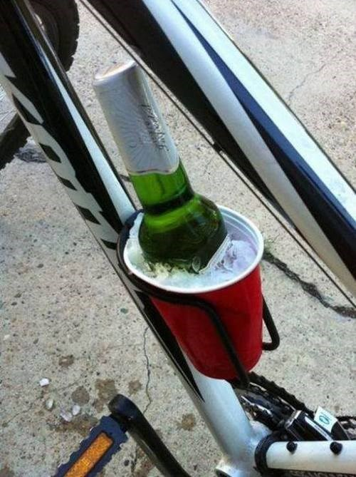 beer bicycle cold funny - 7846065920