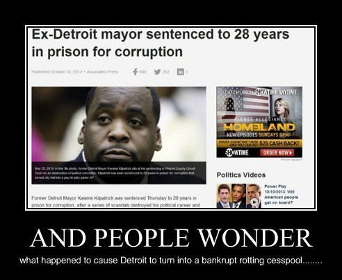 mayor shocking detroit funny - 7846121472