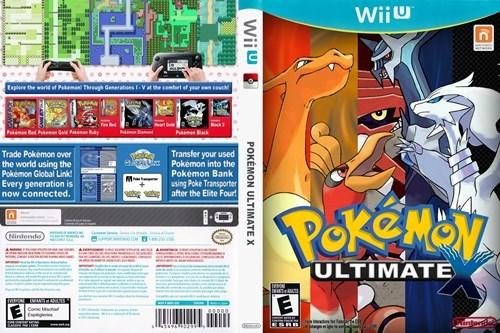 Pokémon wii U nintendo - 7846131200