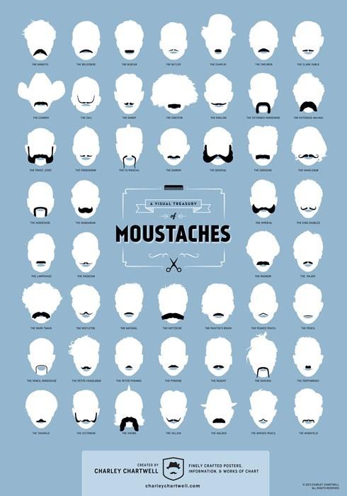 fashion mustache facial hair - 7846171648