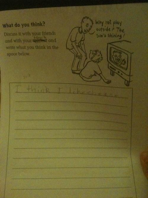 homework cheese kids parenting - 7846199296