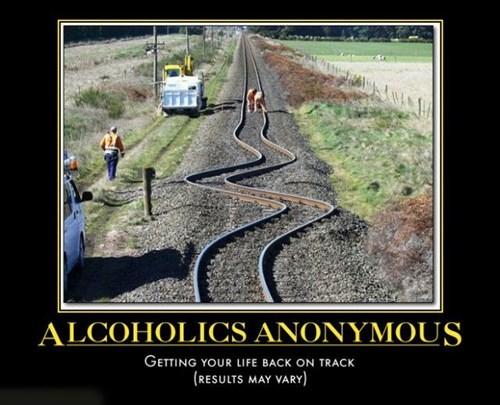 AA railroad drunk funny - 7846216704