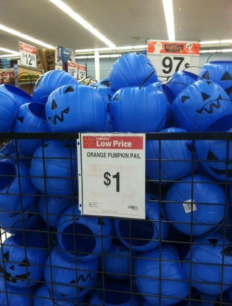 pumpkin pails,Walmart