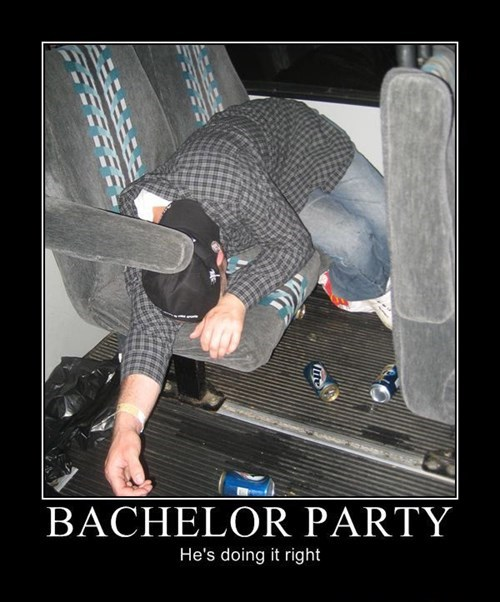 drunk Party bachelor funny bus