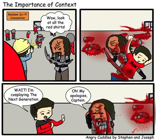 klingons context Star Trek funny web comics - 7846318848
