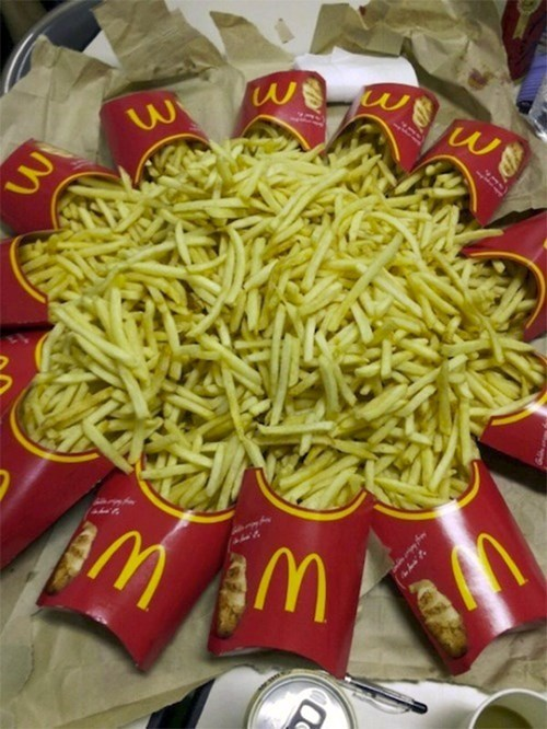 McDonald's french fries food funny - 7846351616