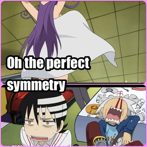 symmetry anime soul eater death the kid - 7846543360