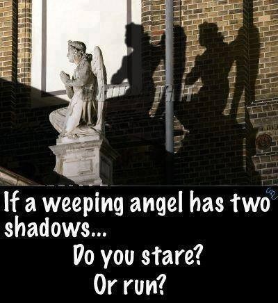 weeping angels,doctor who