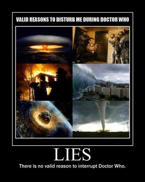 very demotivational,doctor who,fandom problems