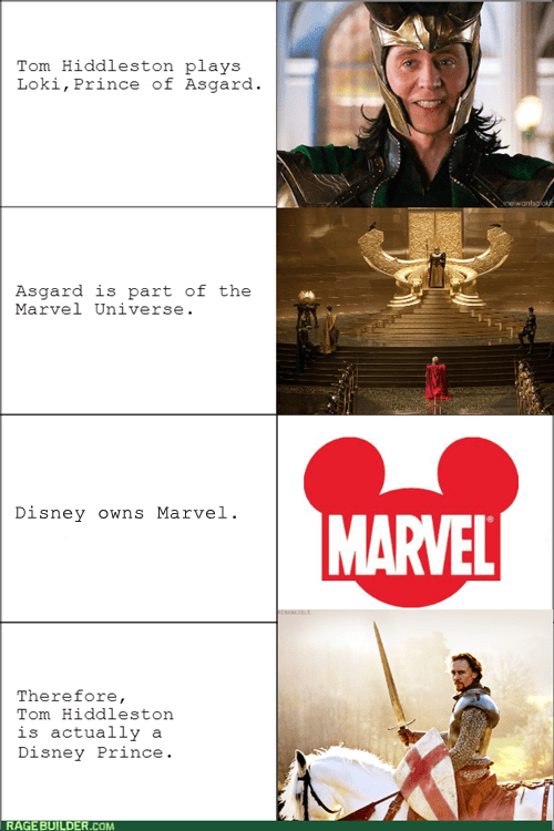 loki Thor marvel disney tom hiddleston The Avengers - 7846755584