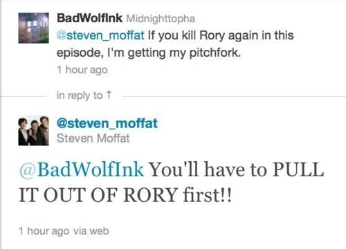rory twitter Steven Moffat - 7846837760
