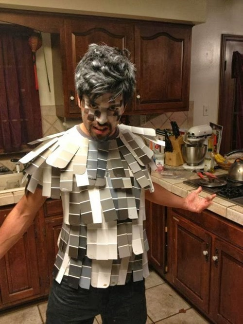 costume,halloween,50 shades of grey