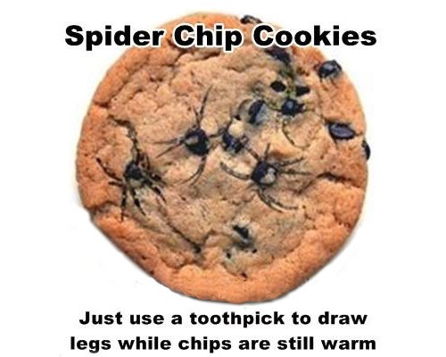 spiders halloween cookies food g rated - 7847253760