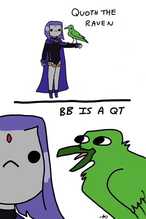 raven,teen titans,webcomics,beast boy