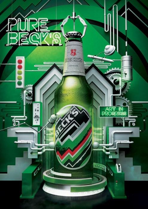 beer ads beck's funny - 7847350016