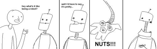puns,robots,comic