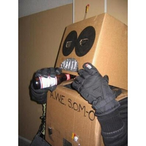 costume halloween robots funny freaky fail after 12 g rated - 7847372544