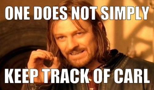 one does not simple Boromir carl grims The Walking Dead - 7847392512